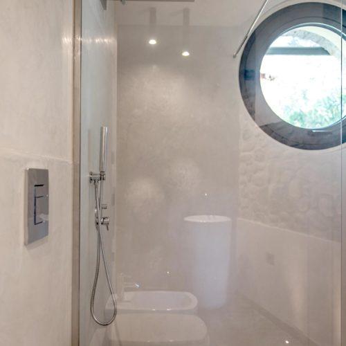 Box doccia Walk in in cristallo Extrachiaro